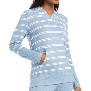 Alfani Striped Supersoft Pajama Hoodie